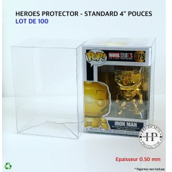 LOT DE 100 - POP PROTECTORS...
