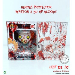 "LOT DE 10 HP BLOODY 4"" -..."