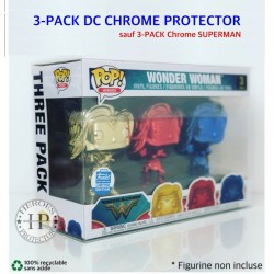 Protector DC CHROME 3-PACK...