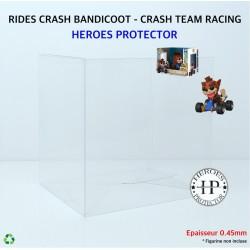 PROTECTOR RIDES CRASH...